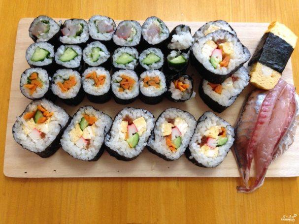 Постные роллы (суши-роллы) 6 рецептов с фото пошагово. Как