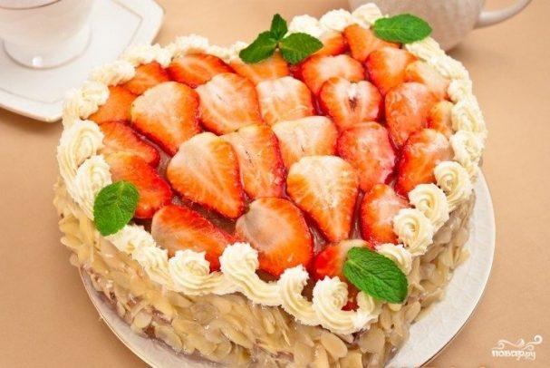 """Торт """"На день влюбленных"""""""