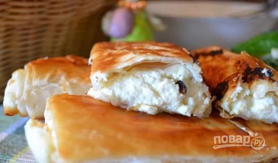Хрустящие пирожки из теста фило