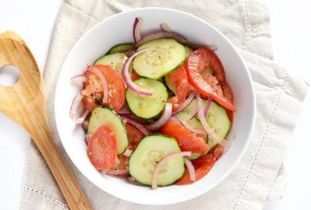 Салат из простых продуктов