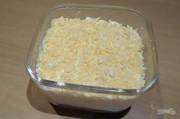 Салат с сардиной в масле