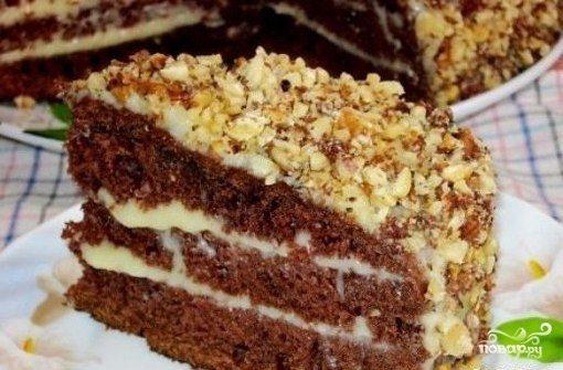 Торт на снежке рецепт