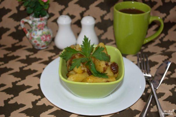 Овощи под соевым соусом