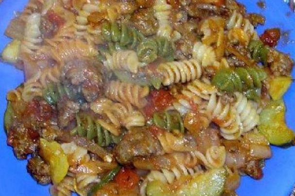 Ротини с итальянской колбасой