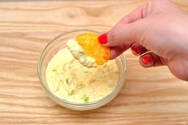 Сырный соус для чипсов начос