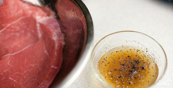 Маринад для стейка из свинины
