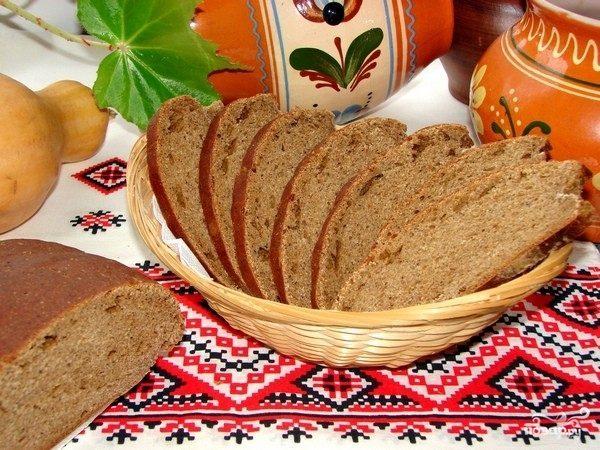 Ржаной хлеб простой