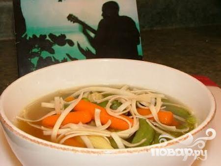 Овощной суп в азиатском стиле