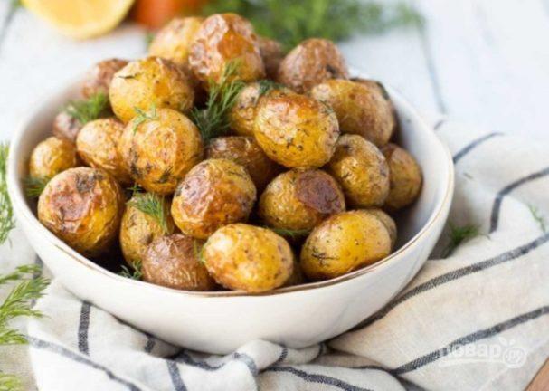 Как приготовить картошку на гарнир к курице