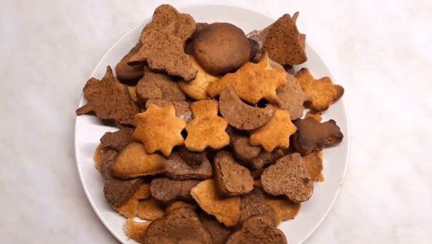 Имбирное рождественское печенье