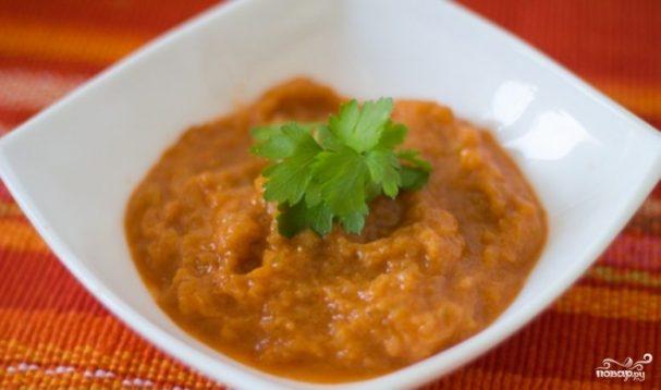 Кабачковая икра с томатной пастой в мультиварке