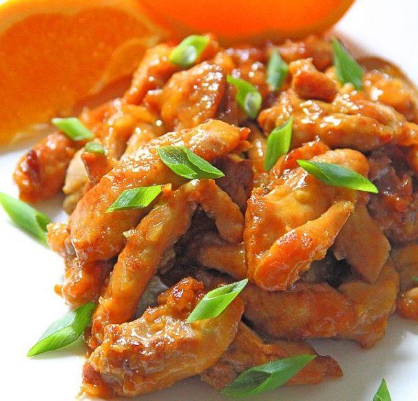 Острая курица по-китайски