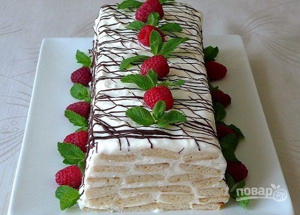 """Торт """"Медовое полено"""""""
