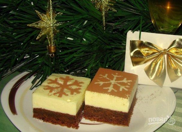 """Пирожные """"Новогодняя нежность"""""""