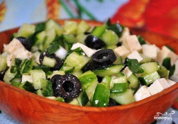 Жиросжигающий салат