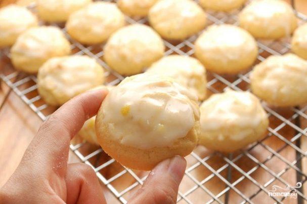 Печенье глазированное