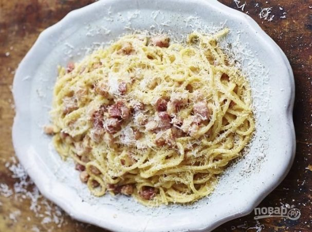 "Спагетти ""Карбонара"" (классический рецепт)"