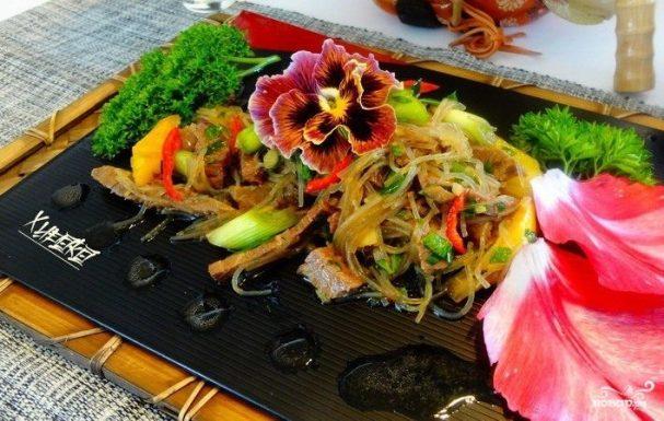 пп салат с говядиной