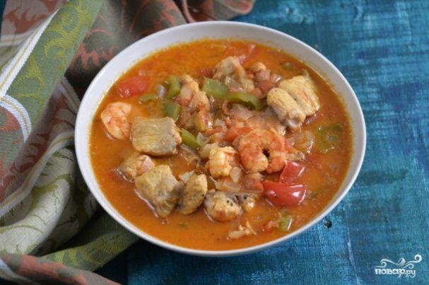 Томатный рыбный суп рецепт с пошагово в