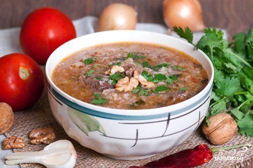харчо рецепт классический из говядины с рисом рецепт