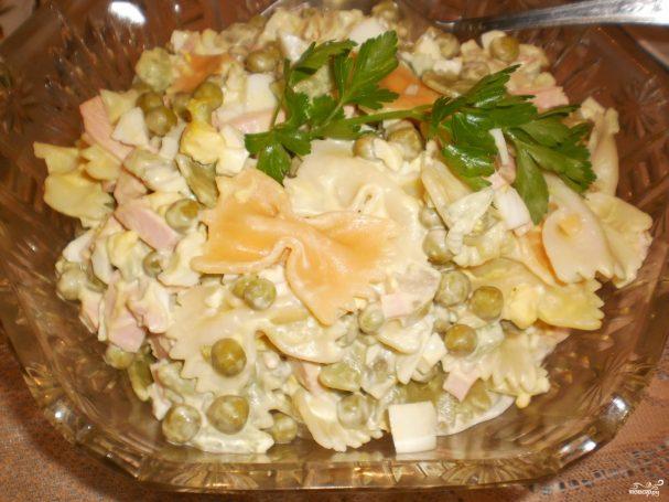 "Салат ""Оливье"" с макаронами"
