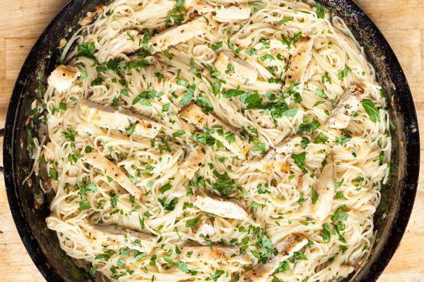 Рецепт пасты с курицей