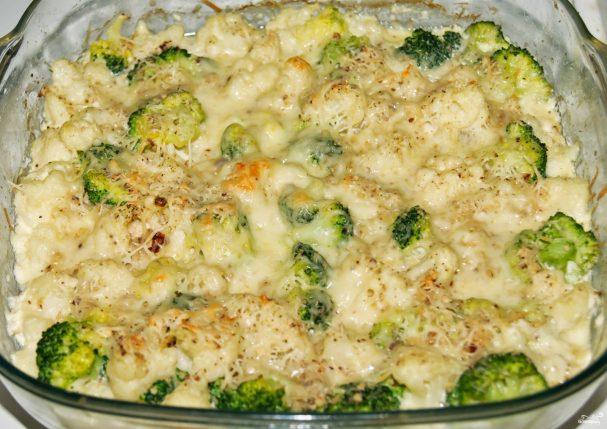 запеканка из цветной капусты в духовке рецепты