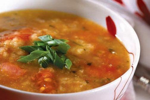 Суп итальянский хлебный