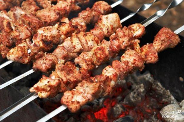Шашлык из свинины армянский