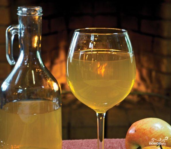 Вино из яблок без дрожжей