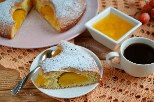 Персиковый пирог