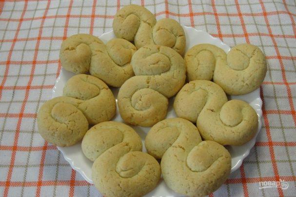 Быстрый рецепт домашнего печенья