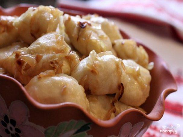 вареники с картошкой рецепт на кефире