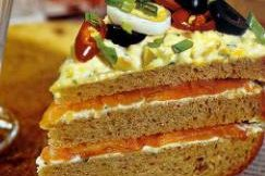 Закусочный торт для мужчин