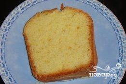 Апельсиновый бисквитный пирог