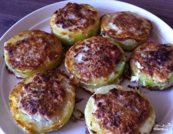 кабачки в кляре с мясом рецепт