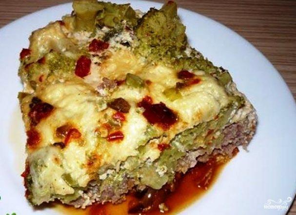 Брокколи с мясом в мультиварке