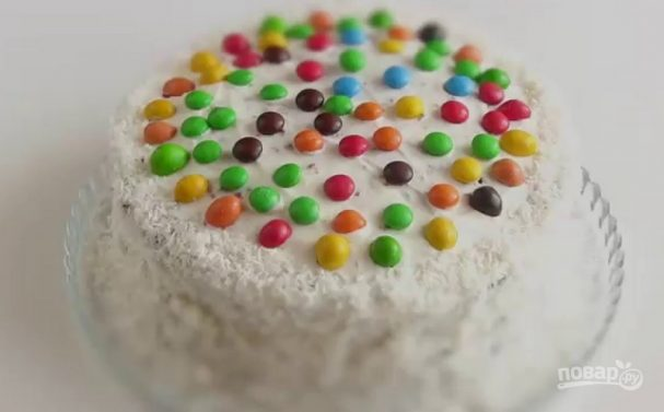 """Торт шоколадный """"Конфетти"""""""