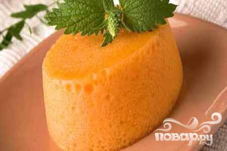 Мусс морковный