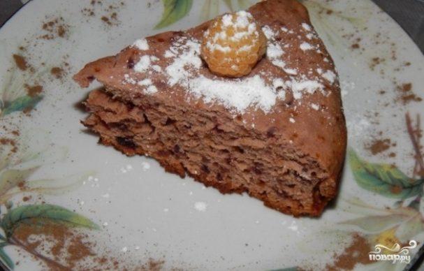 Пирог с малиновым вареньем в мультиварке