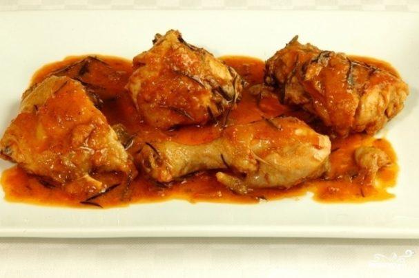 Курица в томатной пасте