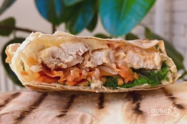 Рецепт шавермы дома с курицей рецепт с пошагово