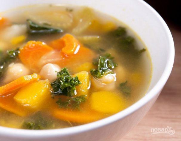 Легкий суп с сыром рецепт