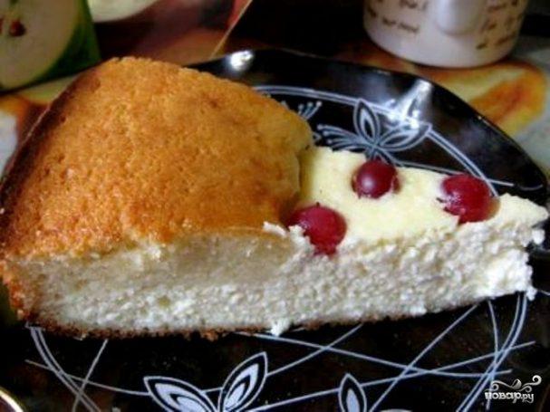 Быстрый творожный пирог