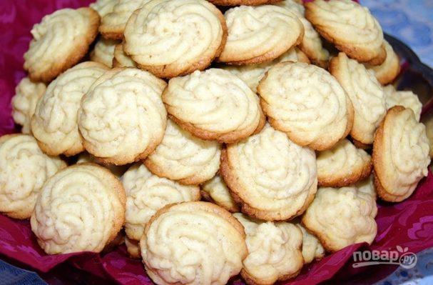 Печенье, тающее во рту