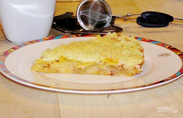 """Яблочный пирог с сыром """"Гауда"""""""