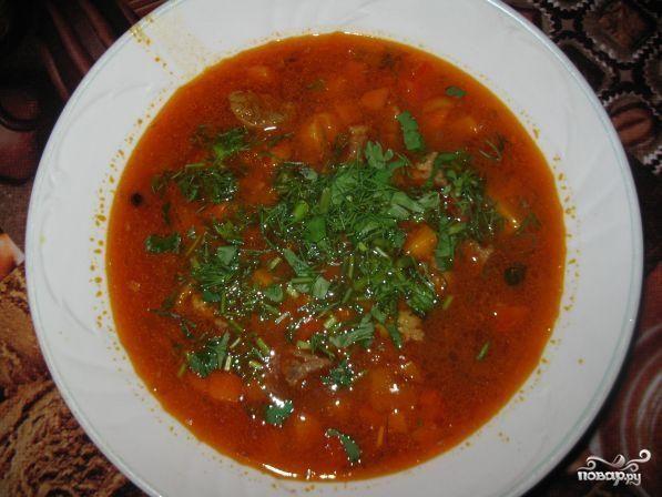 Суп с галушками и томатом пошаговый рецепт с фото