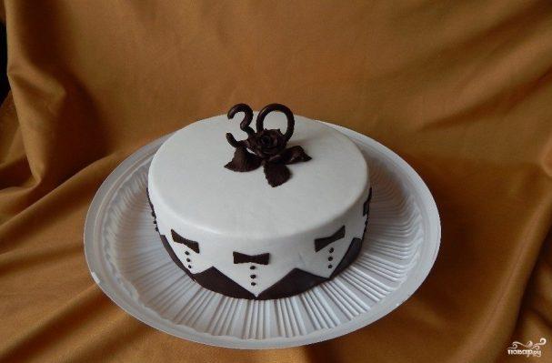 Торт начальнику на день рождения