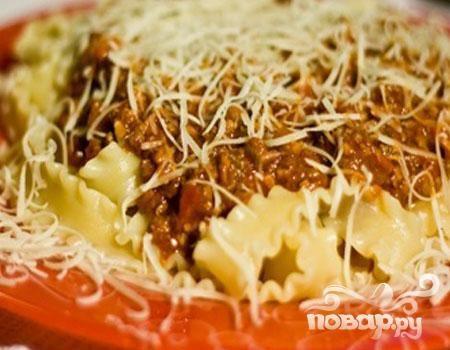 Рецепт паста болоньезе фото