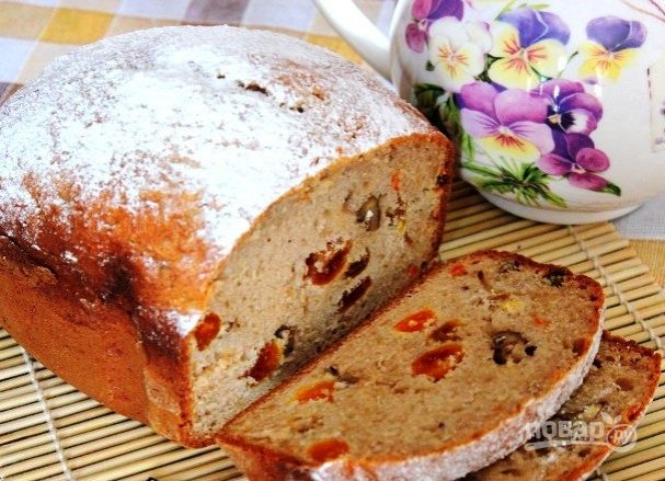 "Кекс в хлебопечке ""Мулинекс"""